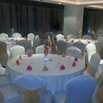 Wedding setup at Tipu sultan Restaurant U.k