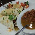 Fajita tacos that Dad had
