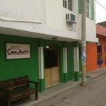 Entrance to Hotel Casa Amelia