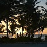 Sunrise view looking towards the ocean