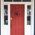 Loved this front door!  :)