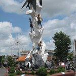Bird Nest Statue Kebumen, Central Java