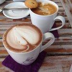 Fluffy hot coffee best in Bali