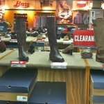G.H. Bass Shoe & Co.  Shoes, slippers and boots for men and women.  Also carry luggage styles.