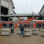 Me outside First Energy Stadium