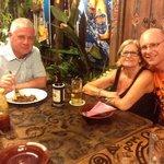 family dinner at the Living Room