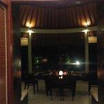 Valentine Dinner inside villa