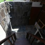 Abian Huts - Dream Beach - Bali - The Travel Glow - outdoor bathroom