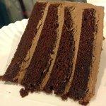 Award-winning chocolate fudge cake