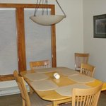 dining area of Poplar River Condo