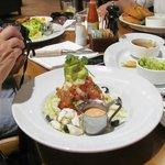 The Del Mar salad, great taste!