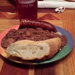 The red beans and rice was great.