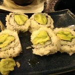 The Vegi Roll.. Just Avocado,not what the menu offered.