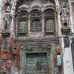 heritage in neglect, current a small Krishna Temple
