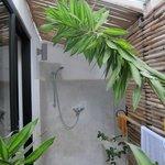 outdoor shower - wonderful