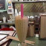 Black walnut milk shake equals awesome!