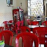 Café on first floor of Relax Inn.