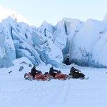 The glacier was amazing!