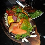 A MUST to try..the sizzling vegetable platter!!!