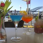 Cocktail by the harbour
