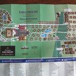 Map of Bahia Pricipe Resorts