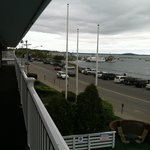 Harbor view room! Great view even on a cloudy day