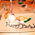 Happy Birthday Dessert Course