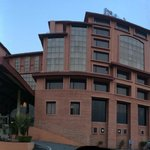 Panoramic View of the Hotel Entrance