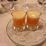 12. Chupito de mandarina al vodka