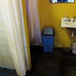 """rustic"" bathroom"