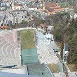 Ausblick vom Schanzenturm.