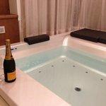 vasca idromassaggio suite