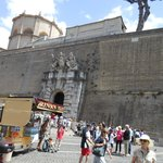 Wall of the Vatican