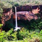 Lindíssima Cachoeira Véu da Noiva, Chapada dos Guimarães, MT
