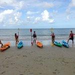 kayaking separately much funner than kayaking in twos