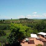 panorama colline del Chianti