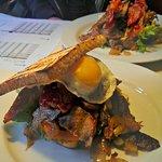 Steak Sandwish - med spejlæg. Yum!