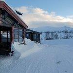Eingang der Hovringen Fjellstue