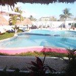 Espace piscine au 22 février 2014.