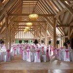 Inside the New Barn