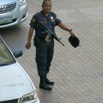 Manila shopping mall security