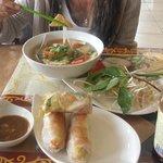 Vegan Pho & Spring rolls