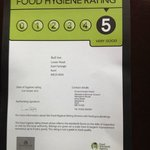 STAR RATING FOR FOOD