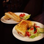 Tuna & cheese Melt @therumblintumcafe