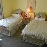 Garden Room, en suite twin bedded room
