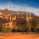 The famous Kasbah of Ait Ben Haddou