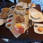 Frühstück - alles frisch, selbst hergestellt...