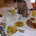 Breakfast in the room!