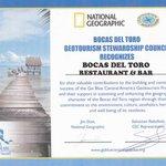 National Geographic GeoTourism Award
