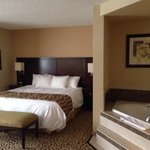 King whirlpool room. Great stay!